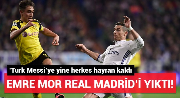 Emre Mor Real Madrid'i yıktı! Yine hayran bıraktı...