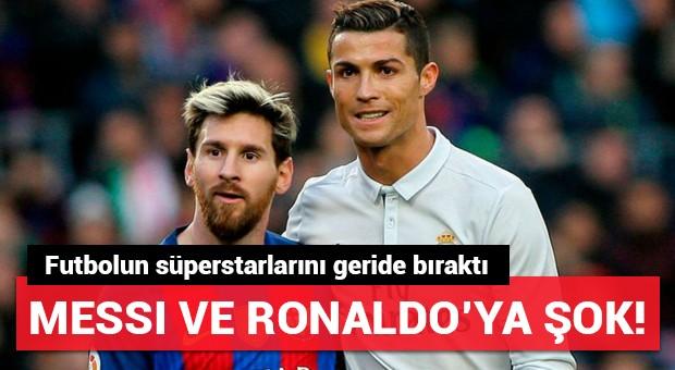 Dünyanın en fazla kazanan futbolcuları listesinde sürpriz!