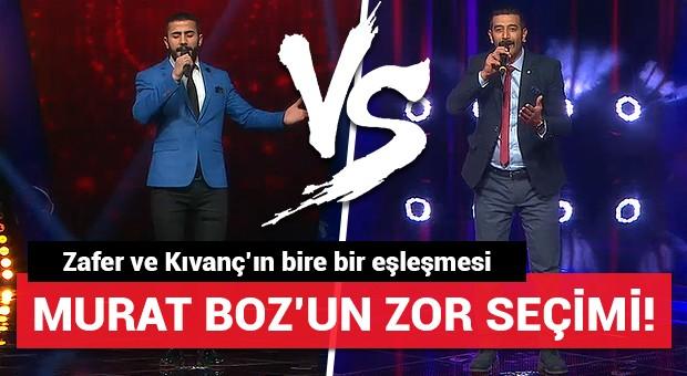 Murat Boz'un zor seçimi!