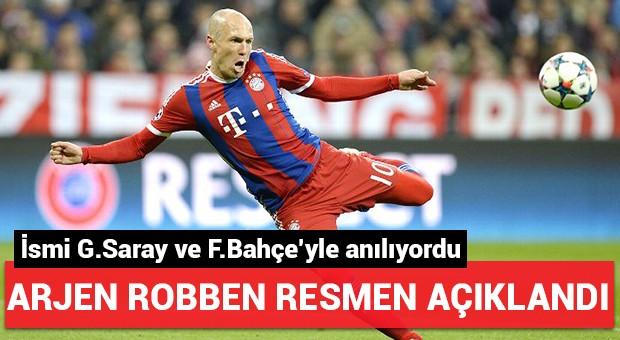 Arjen Robben resmen açıklandı!