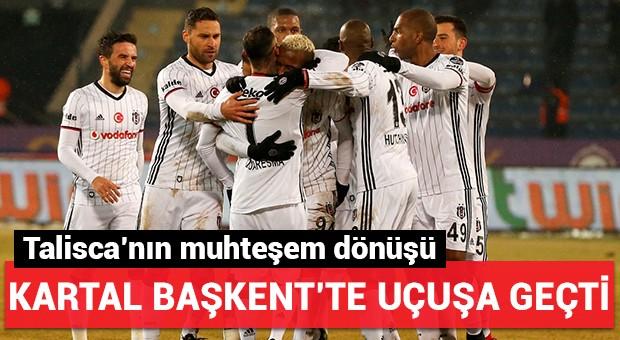 Beşiktaş Başkent'te uçuşa geçti