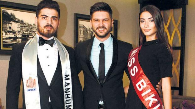 Dünyaca ünlü Manhunt International Yarışması'nda Türkiye'yi temsil etmeye hazırlanan Ömer Faruk'a, Tolgahan Sayışman'dan destek geldi