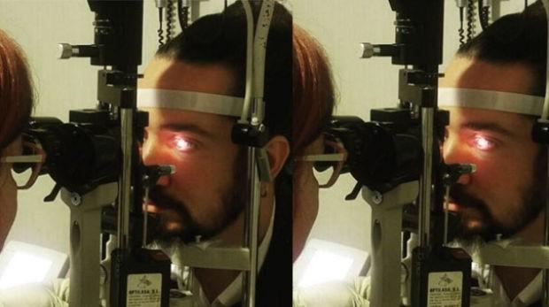 Önceki gün koruma gözlüğü olmadan makinayla taşlama yapan Doğukan Manço soluğu hastanede aldı