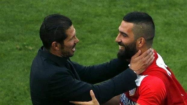Atletico Madrid Teknik Direktörü Diego Simeone'den Arda Turan itirafı