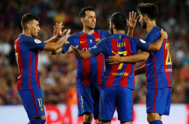 Barcelona - Sevilla maçında Arda Turan rüzgarı