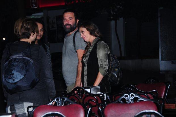 Nilüfer Açıkalın, yeni aşkı Jehat Hekimoğlu ile önceki akşam ilk kez Cihangir'de görüntülendi