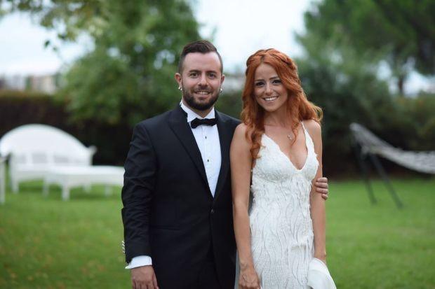 Emre Aydın ve Eda Köksal çifti üçüncü düğünü yaptı