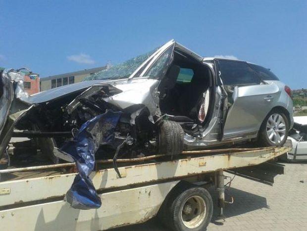 Mustafa Alabora tarfik kazası geçirdi