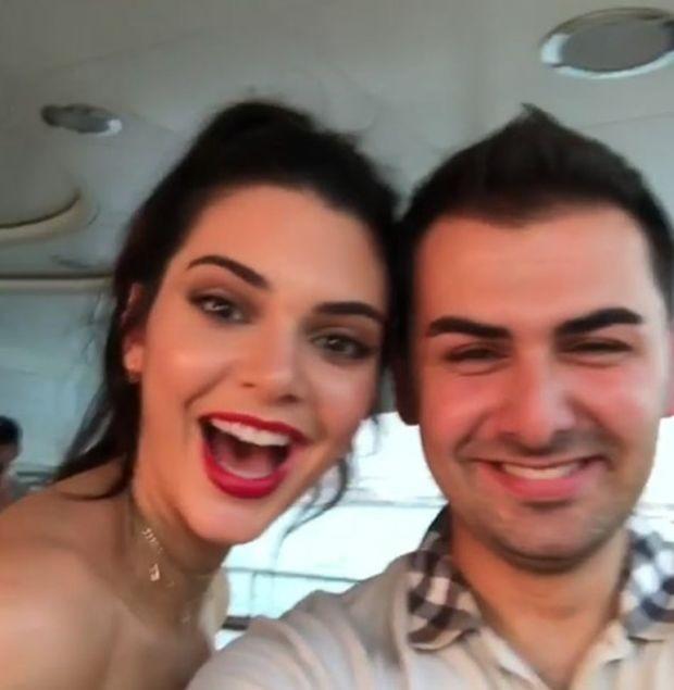 Türk iş adamından Kendall Jenner'a lüks hediye
