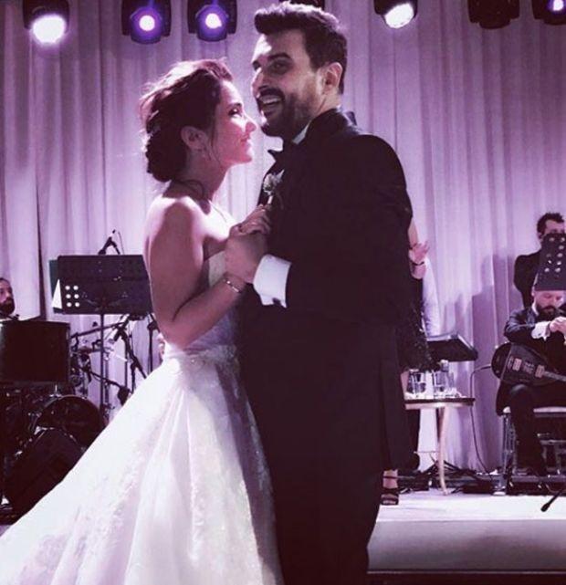 gökhan tepe vokalisti ayln özerle evlendi