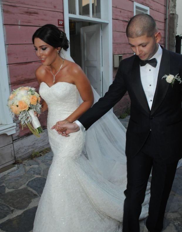 Işıl Yücesoy kızını evlendirdi