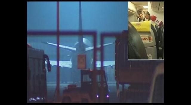 Uçak krizinde operasyon tamamlandı
