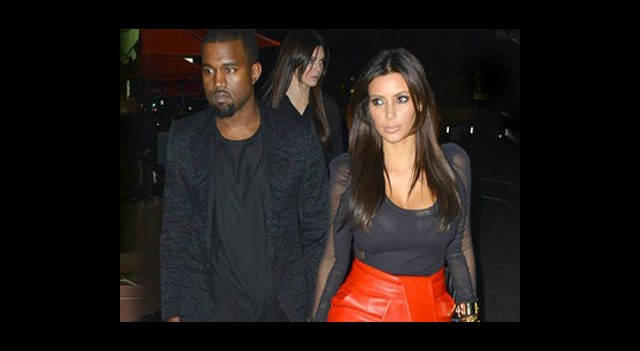 Kim ve Kanye West Sokakta Yakalandı!