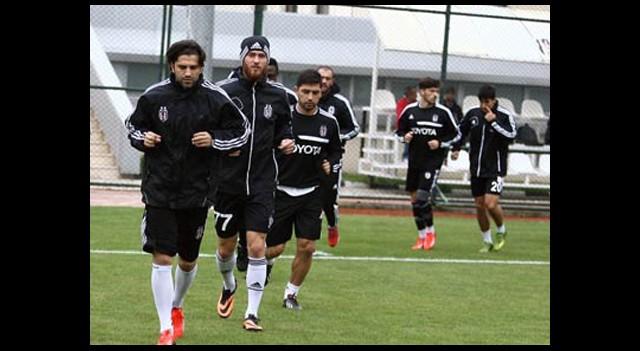 Beşiktaş 15 Eksikle Çalıştı
