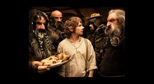 The Hobbit Setinden Görüntüler