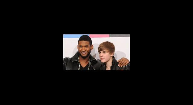 Usher'dan Bieber'e Tam Destek