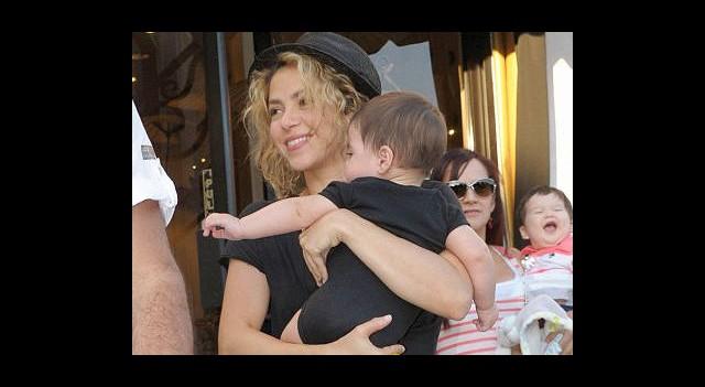 Shakira Küçük Oğlu Milan'ı Nereye Götürdü?