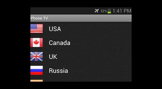 Günün Mobil Uygulaması: Phone TV