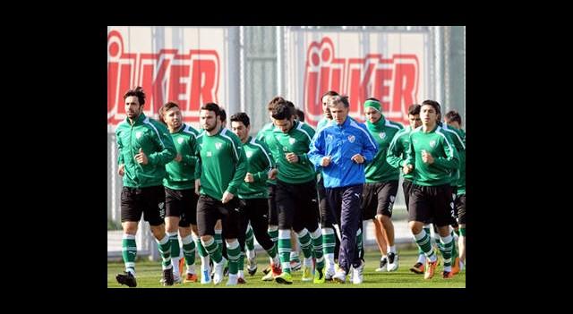 Bursaspor'da Galatasaray Hazırlıkları