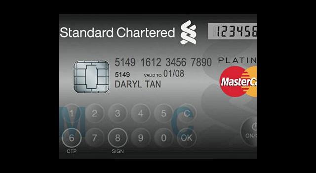 Dokunmatik ve LCD Ekranlı Kredi Kartı Geliştirildi