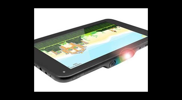 Projektörlü İlk Tablet: LumiTab