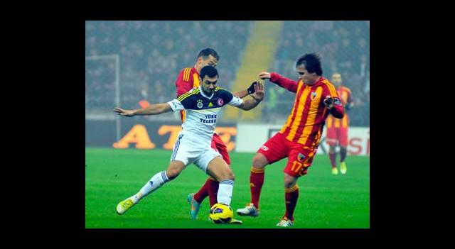 Fenerbahçe İle Kayserispor 36'ncı Randevuda