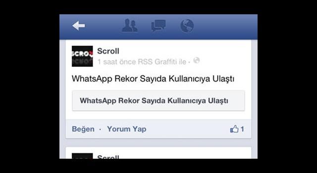 Facebook iOS İçin Güncellendi