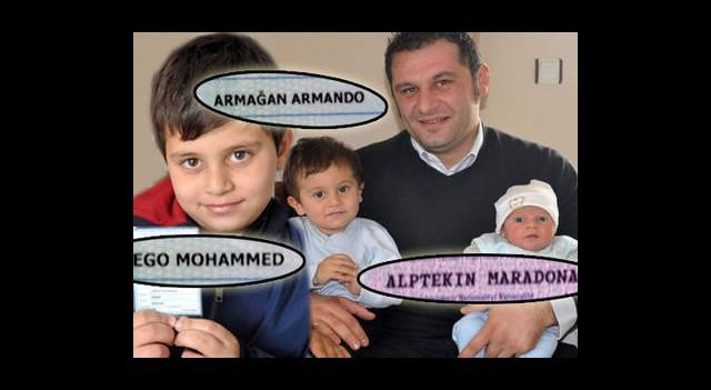Armando, Diego, Maradona...