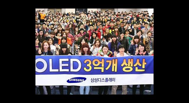 Samsung'un Büyük AMOLED Ekran Başarısı