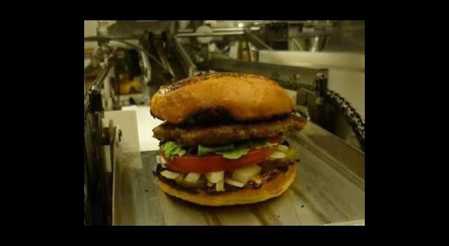 Robot'lar Hamburger Dünyasına Girdi