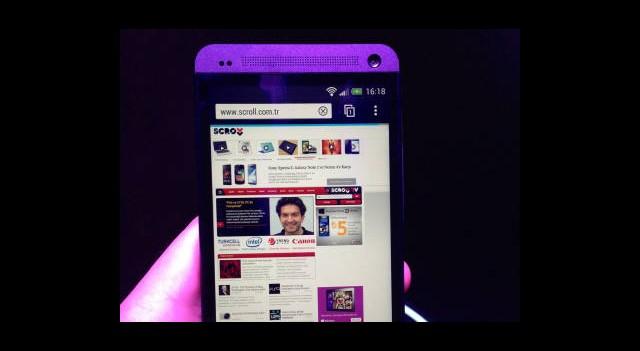 Yeni Tanıtılan HTC One Çok Farklı Özelliklere Sahip!