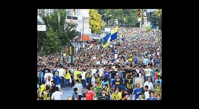 Büyük Fenerbahçe Yürüyüşü!