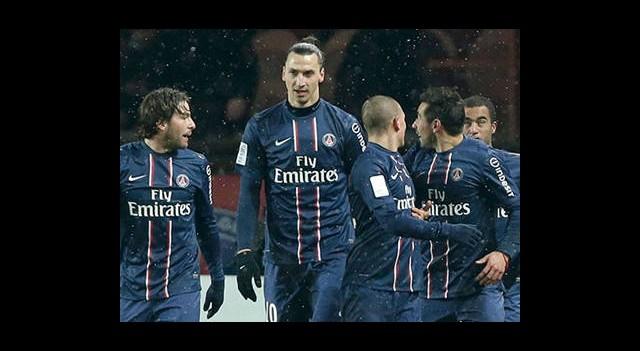 Fransa'da Kazanan PSG
