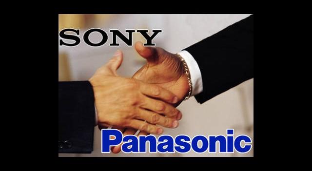Sony ve Panasonic Ortaklığın Eşiğinde