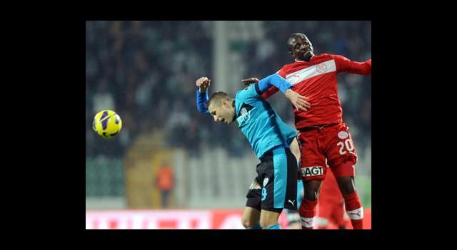Bursaspor:1 Antalyaspor:1