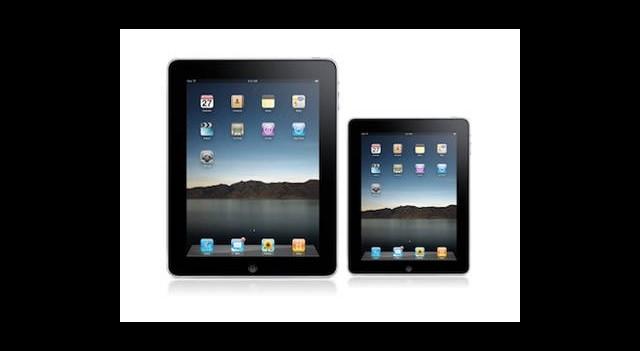 iPhone 5 ve 7 İnç iPad Üretime Giriyor