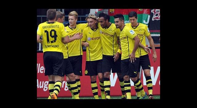Borussia Dortmund Galibiyetle Başladı