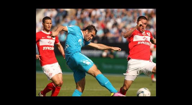 Spartak Moskova'ya Büyük Şok!