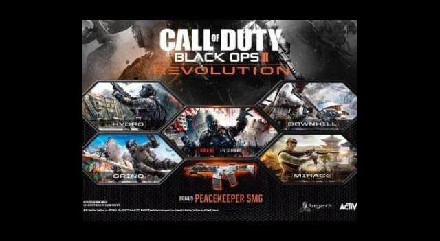 Black Ops II: Revolution Yayınlandı!