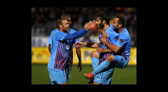 Trabzonspor Ankara'da Çok Rahat