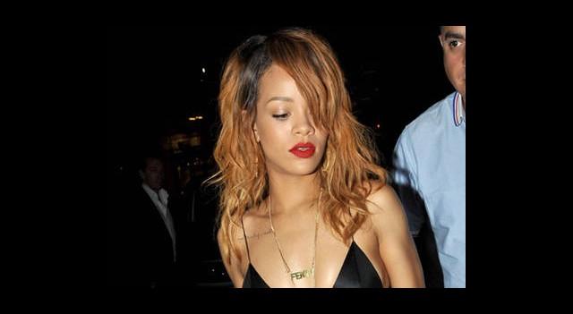 Rihanna'nın Pariste Gizli Buluşması