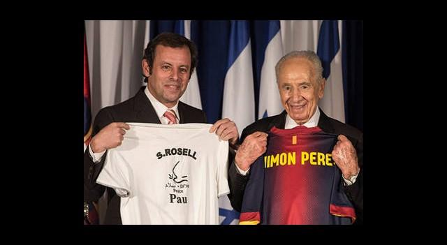Barcelona'ya Filistin'den Ret