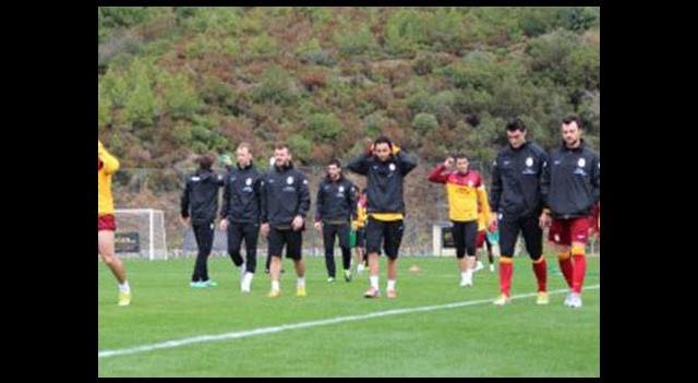Galatasaray'ın Alanya kampı sürüyor