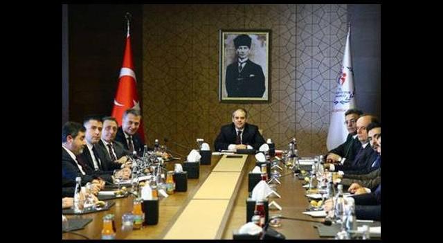 Bakan Kılıç, Beşiktaş yönetimini kabul etti