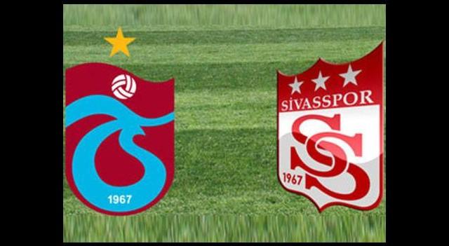 Trabzonspor ile Sivasspor, ligde 19. randevuda