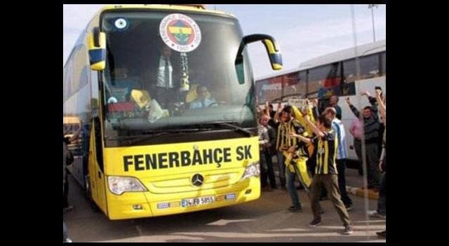 Fenerbahçe kafilesi Karabük'e gitti