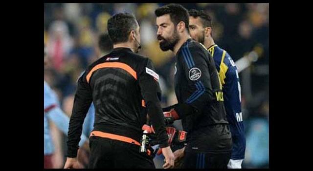 Trabzonspor'dan Volkan'ın cezasına tepki!