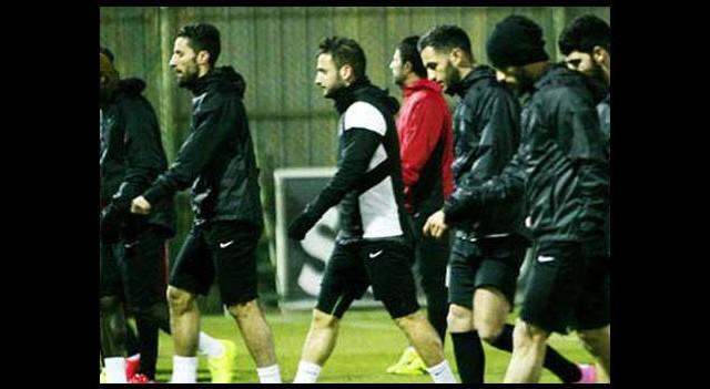 Gaziantep'te yeni transfer Vitor takımla çalıştı