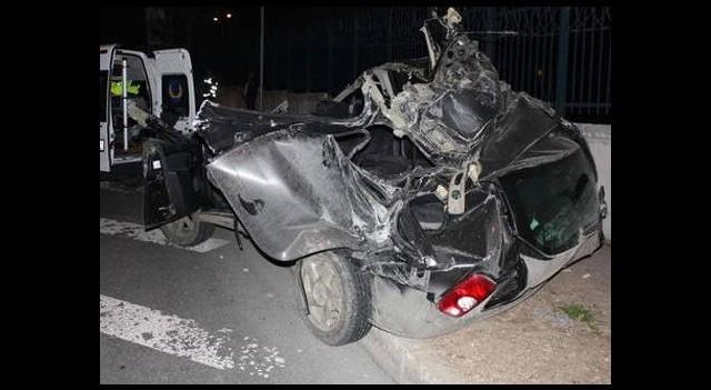 Bakırköy'de feci kaza!