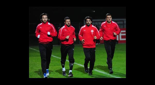 Antalyaspor'da İzin Bitti
